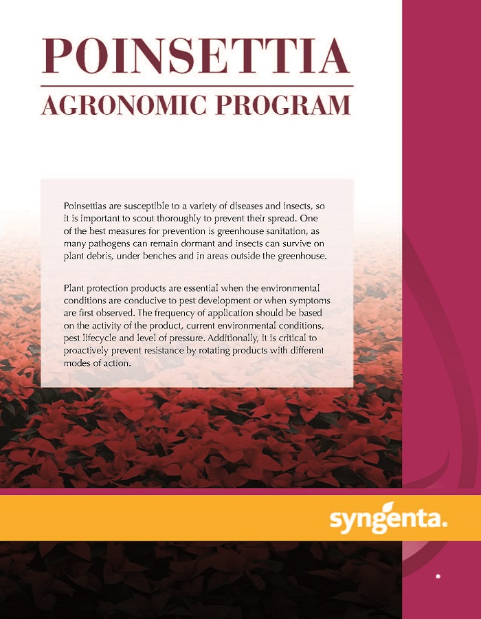 Sample Agronomic Program Poster